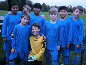 Y5/6 Boys' and Girls' Football Teams