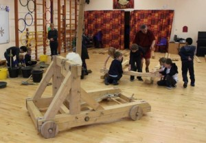 Y4 Making roman seige weapons