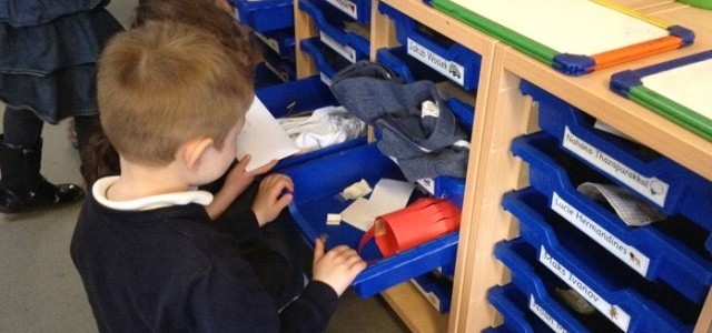 A Day in the Life of a Reception Child