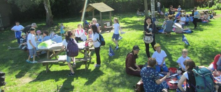 Parents Picnic in Protest at Funding Cuts