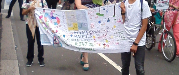 Protest at Funding Cuts – Latest News